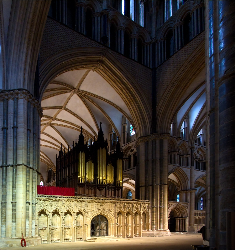 Colin Brown Lincoln Cathedral Before