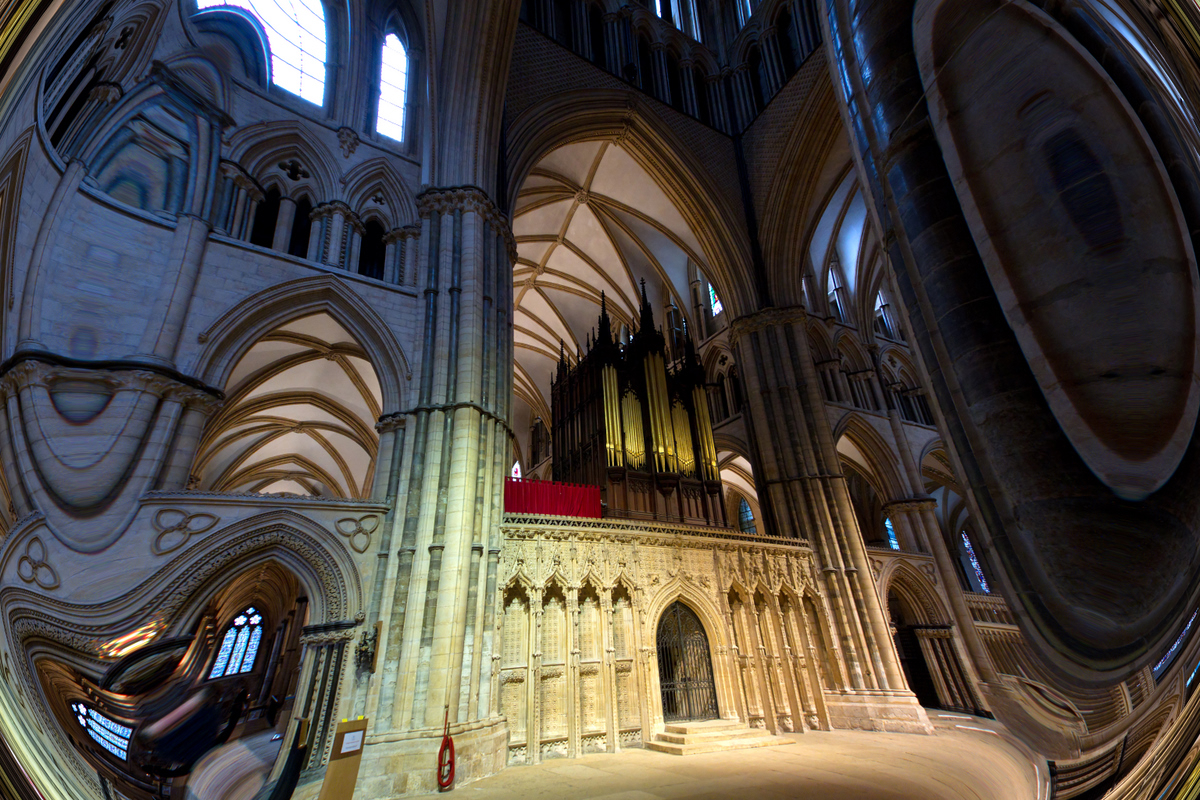 Colin Brown Lincoln Cathedral After