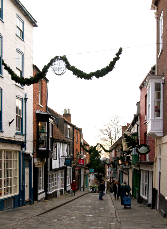 Colin Brown Steep Hill Lincoln Before