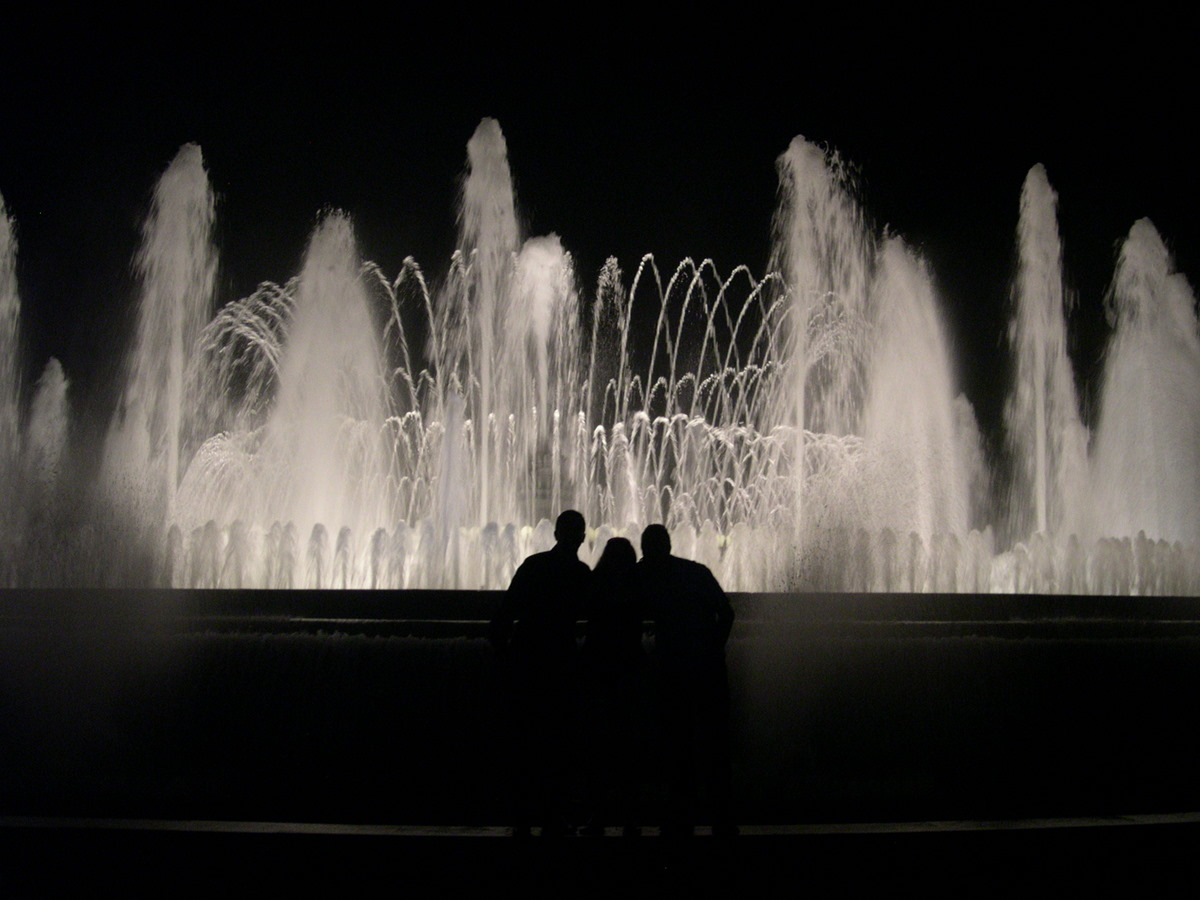 Anne Turpin - Magic Fountain of Montjuic, Barcelona