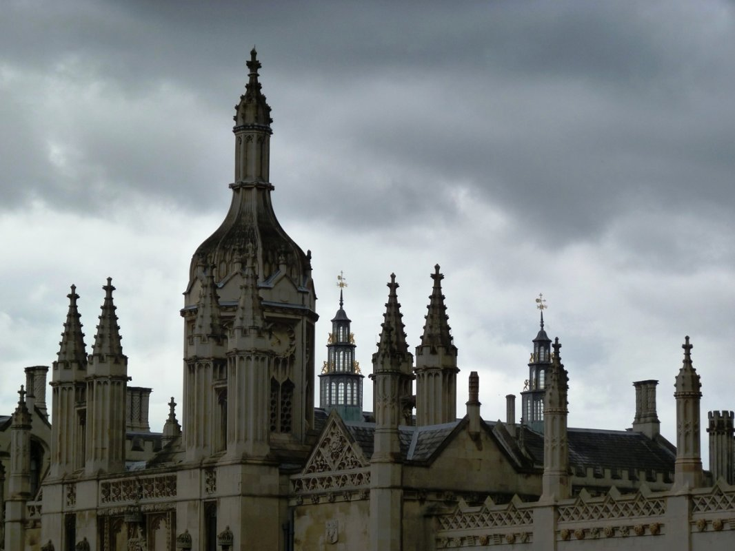 Kings College Sky Cambridge