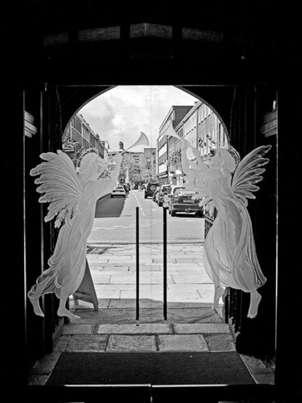 Colin Brown - Glass: Taunton Parish Church