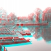 Red Green 3D Punting Cambridge Nov 2013