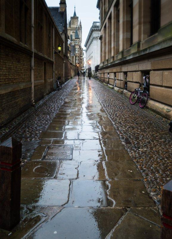 Wet Lane in Cambridge